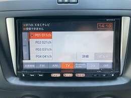日産純正メモリーナビには、TV、Bluetooth対応オーディオ、CD再生など充実した装備となっております♪