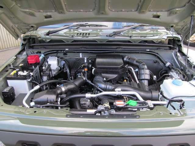 ☆R06A型ターボエンジン☆本格4WDの過酷な使用環境で、走りやすさと耐久性を追求したエンジン☆