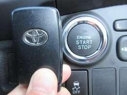 スマートキー&プッシュスタートモデル♪ ボタンワンタッチでエンジン始動ができます♪
