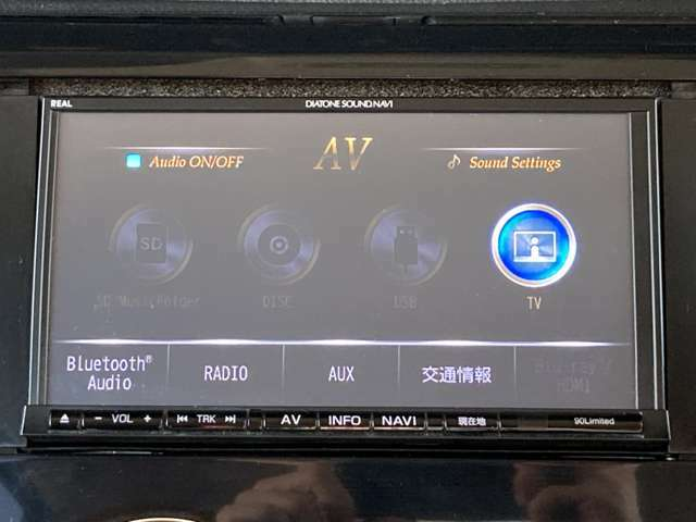 CD、フルセグTVはもちろんの事、今や主流の「Bluetooth」機能もしっかり付いてます。