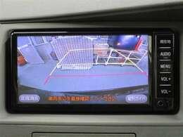 バックモニター付 車庫入れなどの後退時に後方視界をサポート