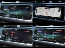 ナビゲーションプロシステム(210,000円)・スマートフォンパック(40,000円)「デジタルテレビ内蔵ナビゲーション。アップルカープレイやアンドロイドオーディオの利用が可能です。」