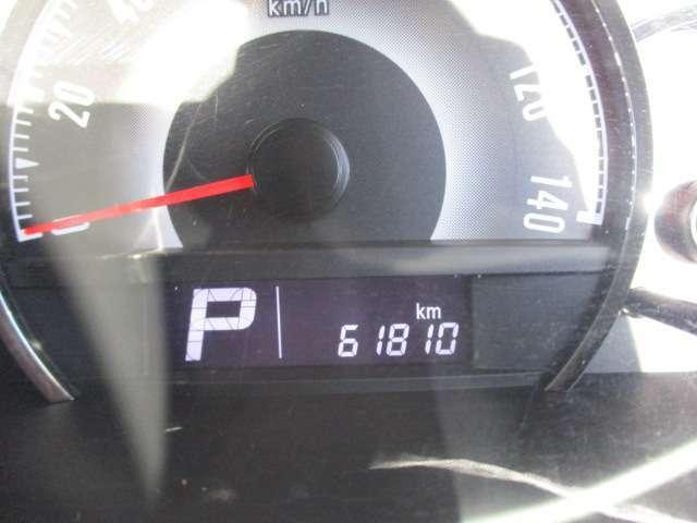 走行61810kmです。