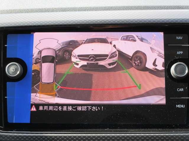 バックカメラ+障害物センサー!