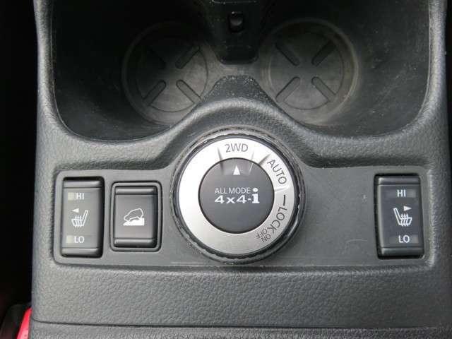【シートヒーター】女性にも嬉しい装備のシートヒーター付です♪冬の運転は寒くて・・・というお客様にはピッタリ!運転席のシートをポカポカにしてくれますよ(^v^)