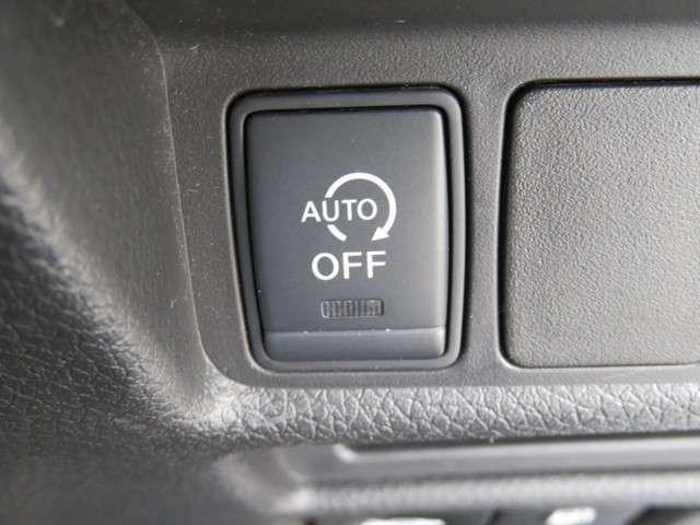 【アイドリングストップ】アイドリングストップは無駄なガソリン消費を抑えます♪
