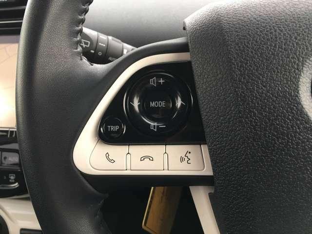 【ステアリングスイッチ】手元のスイッチでナビ操作が可能です!!非常に便利な機能です。取り付けのナビによってはオプション設定となっております!詳しくはスタッフまで♪