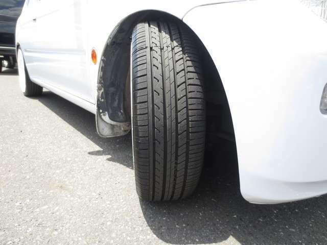 NEWタイヤ♪ 新品タイヤですので安心してお乗りいただけます♪