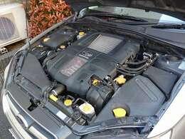 EJ20 水平対向4気筒エンジンは機関良好です!