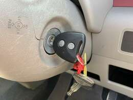 キーレスエントリー 『ボタン一つで鍵の開閉が出来ます☆』