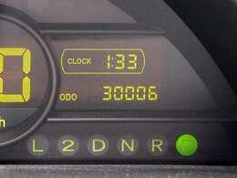 走行3万キロの非常にコンディションのいい車輌です。