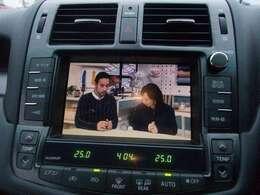 【純正ナビ】使いやすいナビで目的地までしっかり案内してくれます。CD/DVDの再生もでき、お車の運転がさらに楽しくなりますね!!