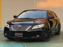 トヨタ カムリ 2.4 G ディグニスエディション 本革シート 車高調 19インチアルミ