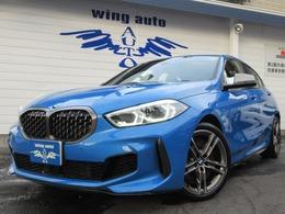 BMW 1シリーズ M135i xドライブ 4WD 黒革 Mシートベルト ACC 電動リヤゲート