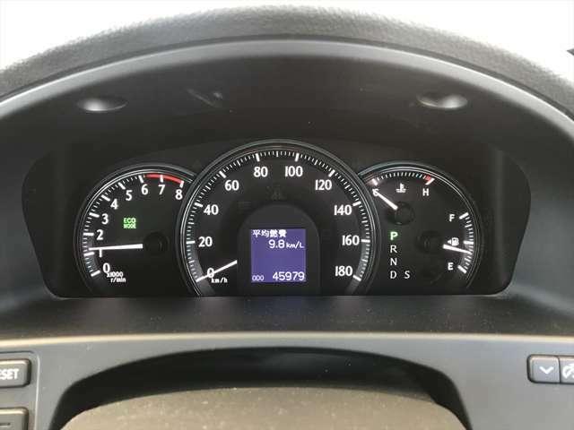 距離はまだ40000km台です。まだまだ安心してお乗り頂けます。