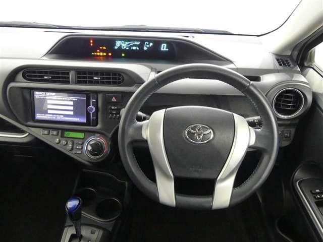 ハンドル周りです。 運転している間、長く触れているものだから手に馴染むハンドルがいいですよね。握ると欲しくなっちゃいます♪