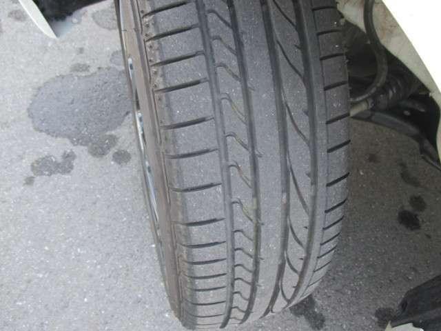 タイヤの溝もバッチリです!