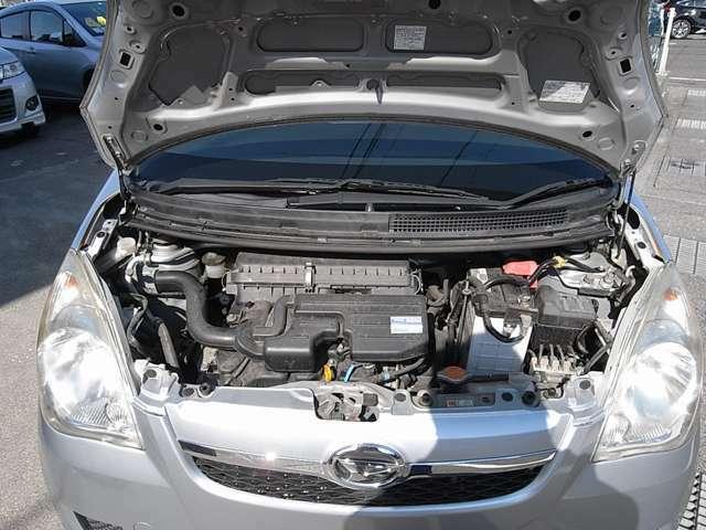 エンジンの調子がとてもいいです!プロの国家資格整備士が、しっかり点検じっくり整備し納車させて頂きます。