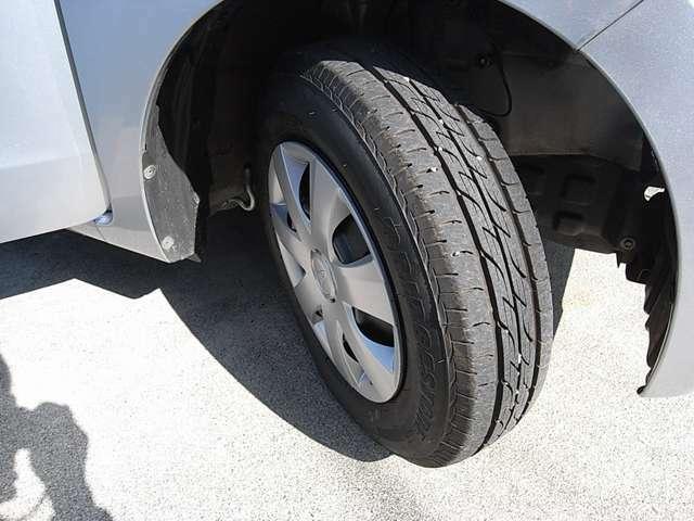 タイヤの残溝もまだ十分あるかと思います。新品タイヤへほぼ部品代のみの大変お得な交換プランもご用意しています。