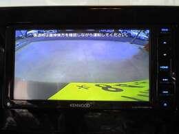 ケンウッド製 7型メモリーナビ(型式:KXMG706BTW)装備 リバース連動のバックカメラも装備されています。