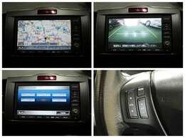 【ナビゲーション】 純正HDDナビを装備しております~! ワンセグTV、CDDVD再生、ラジオの他CD録音できるサウンドコンテナも便利です。
