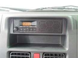 ラジオチューナー装備です!