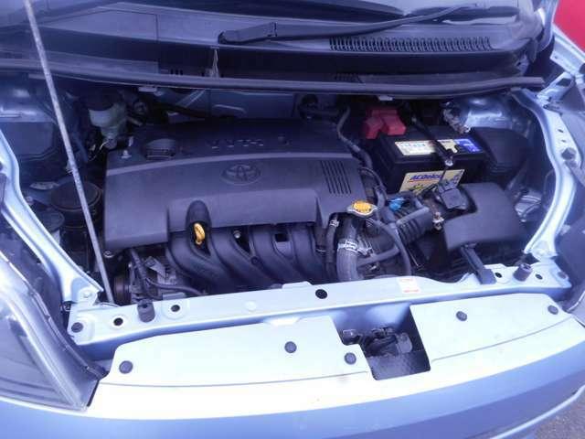 トヨタ1.5Lで燃費や耐久性で自信の心臓部!