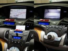 純正HDDナビです!地デジ視聴可能です!バック付きですので駐車も安心です!オートエアコン機能付きです!