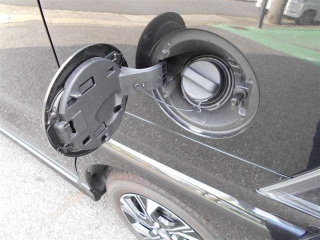 ガソリンはレギュラーになります。
