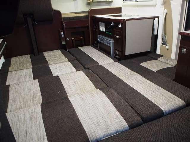 フロアスペースもベッド展開可能です!