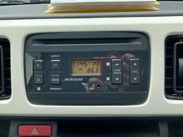 ☆純正オーディオ搭載しています。CD、ラジオが聴けます。ドライブには今となっては欠かせないアイテムですね。