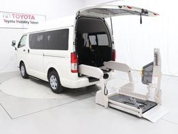 トヨタ ハイエースバン 2.0 ウェルキャブ Cタイプ ロング 福祉車両 バックカメラ キーレス 10人乗り