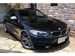 BMW 2シリーズクーペ M235i レッドレザー 純正HDDナビ 禁煙車