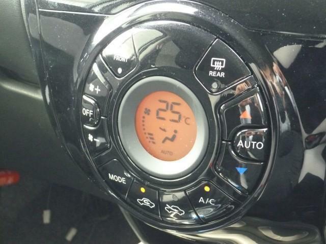 快適!フルオートエアコン☆温度設定をするだけで素早く快適な車内でドライブできます♪