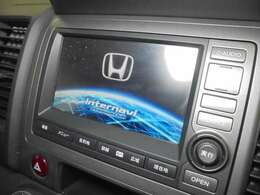 【Honda HDDインターナビシステム】装備!!☆ミュージックサーバー(HDD)☆ミュージックプレイヤー接続(iPod)☆AV入力端子☆Bluetooth接続(ハンズフリー)☆DVD/CD再生機能付