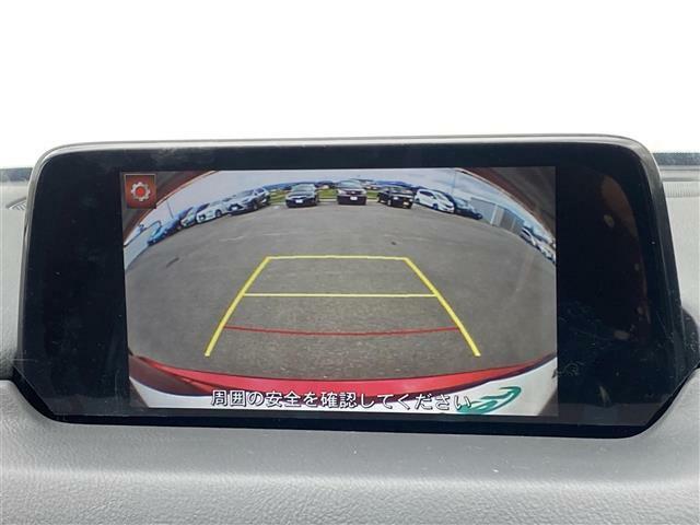 便利な【全方位カメラ】で安全確認もできます。駐車が苦手な方にもオススメな便利機能です。