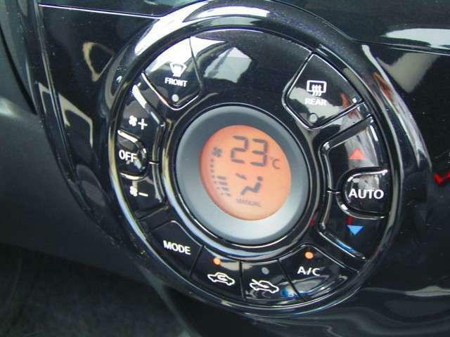 ☆フルオートエアコン☆温度設定だけで車内を快適に保ちます♪
