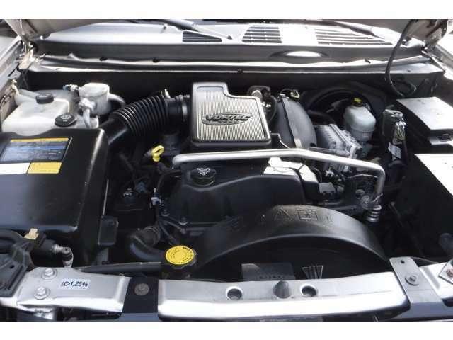 綺麗なエンジンルーム!!VORTEC4200cc!現在のところ、状態は良いです!