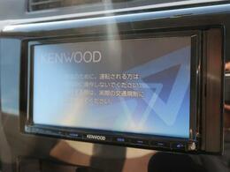 【KENWOOD  SDナビ】この時代必需品のナビゲーションもちろん付いてます♪フルセグTV視聴にDVD再生・ブルートゥース接続での音楽再生も可能です。