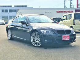 BMW 3シリーズクーペ 325i Mスポーツパッケージ 純正ナビ フルセグTV 黒革シート 19アルミ
