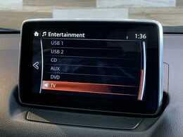 フルセグ内臓のコネクトナビ搭載。DVD再生、Bluetoothも対応可能です。