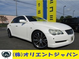 トヨタ マークX 2.5 250G 純正ナビ/コーナーセンサー/ETC/社外アルミ