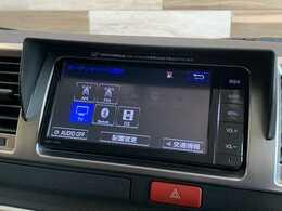 地デジ内臓の純正ナビ搭載。DVD再生、Bluetoothも対応可能です。