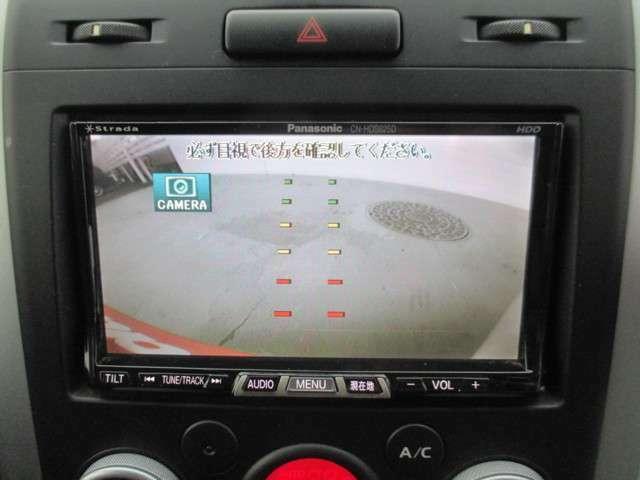 ストラーダHDDナビ フルセグTV DVD再生 バックモニター
