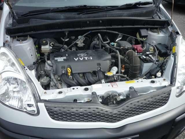 プロボックスバンにも搭載のタフなエンジン2NZ!