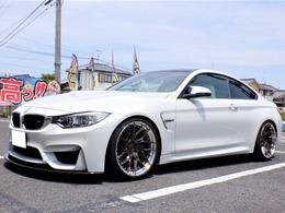 BMW M4クーペ M インディビデュアル エディション M DCT ドライブロジック インディビデュアルエディション 国内10台