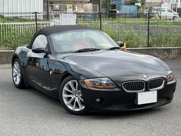 BMW Z4 ロードスター2.2i 電動オープン 赤レザーシート