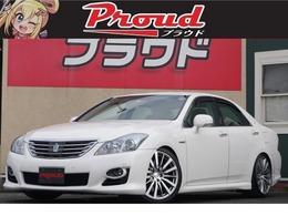 トヨタ クラウンハイブリッド 3.5 ローダウン/黒革席/ヒ-タ-/クルコン/ソナ-