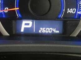 走行距離約26000キロ! まだまだこれからのおクルマですので、ぜひ大切に乗ってあげてください☆