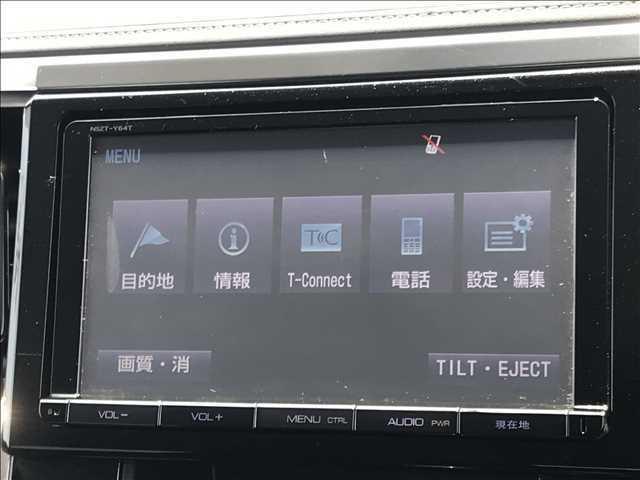 9インチSDナビを装備。フルセグ・DVD再生・Bluetooth等の機能も使用できます!